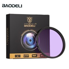 BAODELI Dslr Lens Filtro FLD Filter Concept 49 52 55 58 62 67 72mm 77 82 mm For Camera Canon Nikon D5300 Sony A6000 Accessories