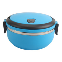 2016 Hot Single Layer Microwave Stainless Steel Bento Lunch Box Outdoor Travel Picnic Food Storage Container