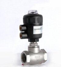 1 1/2 «дюймовый 2/2 способ пневматический клапан управления глобус угол сиденья клапан нормально закрытый 63 мм PA привод
