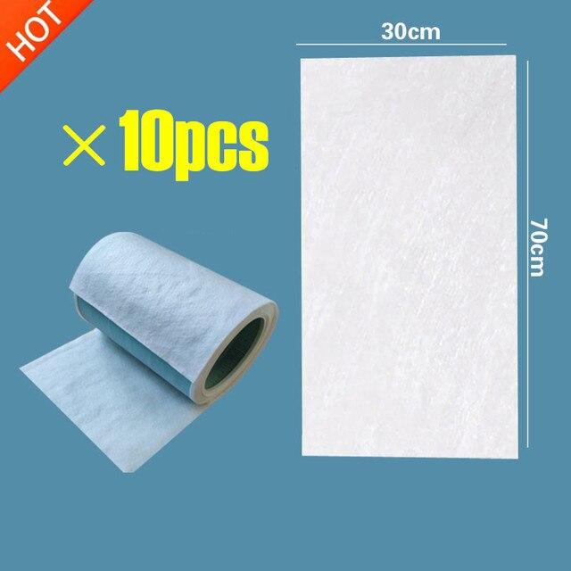 10PCS HEPA אנטיבקטריאלי נגד אבק כותנה עבור פיליפס xiaomi אוויר מטהר 2/1/אוניברסלי מיזוג אוויר מסנן כותנה