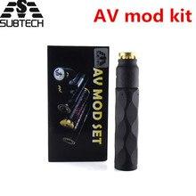 Sub два av mod kit электронная сигарета латунь Материал механический мод комплект мех mod механический мод с rda распылителя 24 мм диаметр