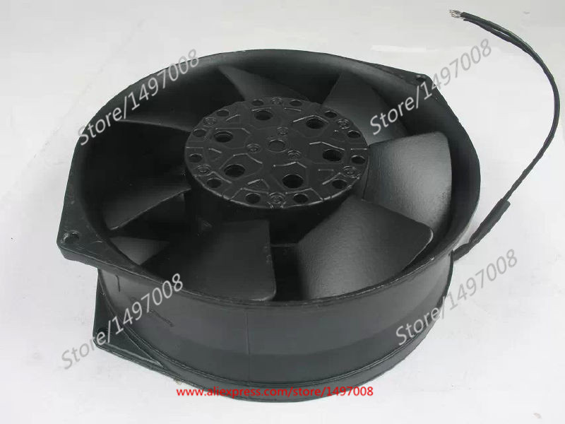 Free Shipping Emacro Bi-sonic  5E-230B  AC 230V 46/44W, 2-wire 170x150x55mm 80mm Server Square fan акустические кабели atlas hyper bi wire 2 to 4 5 0m transpose z plug gold