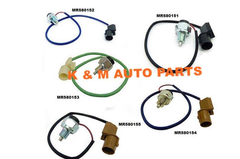set of 5PCs OEM MR580151 MR580152 MR580153 MR580154 MR580155 transfer case Switch For Mitsubishi montero pajero