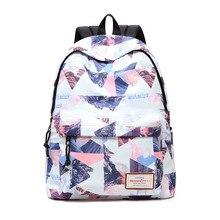 Mochila feminina escolar, bolsa feminina de alta qualidade para adolescentes