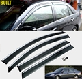 ACCESSORIES FIT FOR 2003 2004 2005 2006 2007 HONDA ACCORD 4-DR SIDE WINDOW RAIN DEFLECTORS GUARD VISOR WEATHERSHIELDS DOOR SHADE