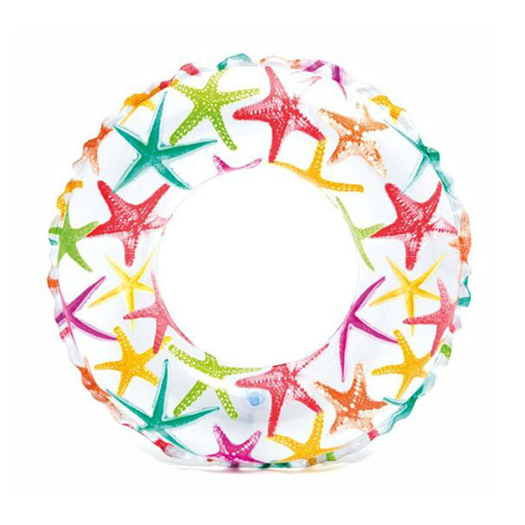 Summer Swimming Rings Pop Group Float Children Water Fun Inflatable Swimming Circle Cartoon Swimming Float For Toddler Baby Safe
