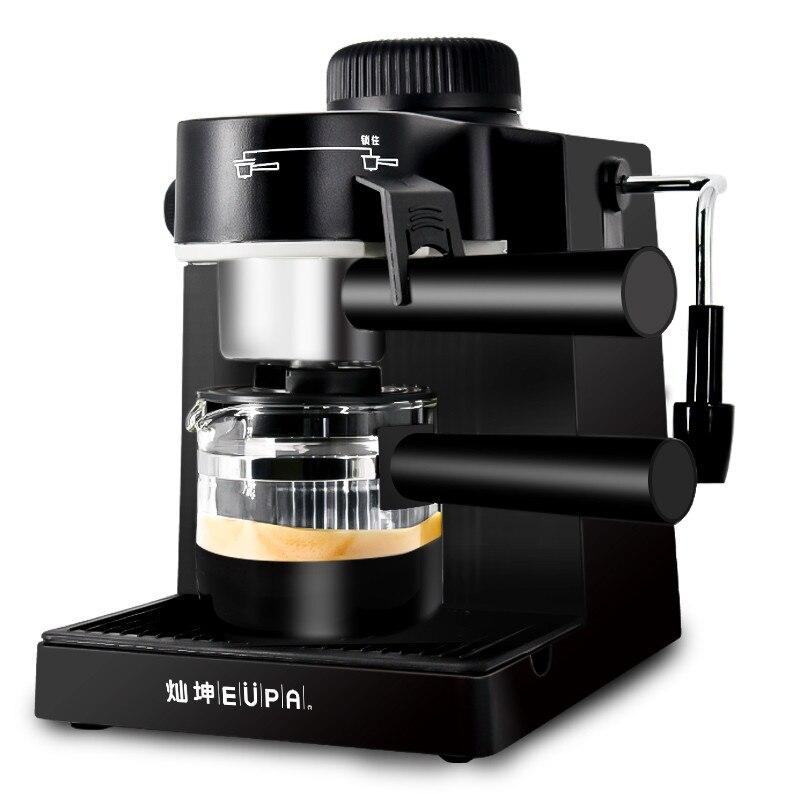 TSK 183 Home Espresso Mini Electric Coffee Maker Full Automatic Coffee Machine Steam Type of Milk Foam Maker Function Promotion
