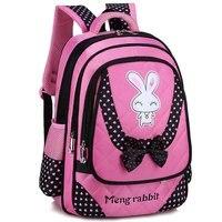NEW Rabbit Girl School Bag Waterproof Primary Backpack Kid Bag Lovely Boby Bag