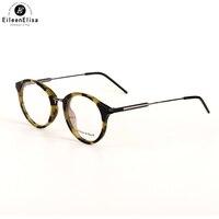 EE Women Round Eyeglasses Frames Vintage Optical Eye Glasses Frame Myopia Spectacles Oculos De Grau Eyewear