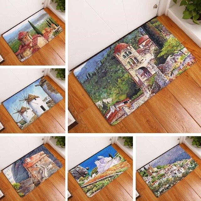 Carpet коврики старинные картины suade коврик украшения дома кухня напольный коврик ванной carpet коврик для ванной туалет коврик 40 х 60 см