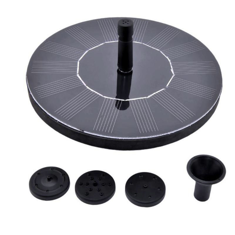 Image 3 - Solar Power Fountain Garden Sprinkler Solar Fountain Water Sprinkler Floating Water Pump Watering Systerm Garden Decoration-in Garden Sprinklers from Home & Garden