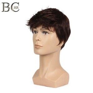 BCHR Short Men Wig Straight Sy