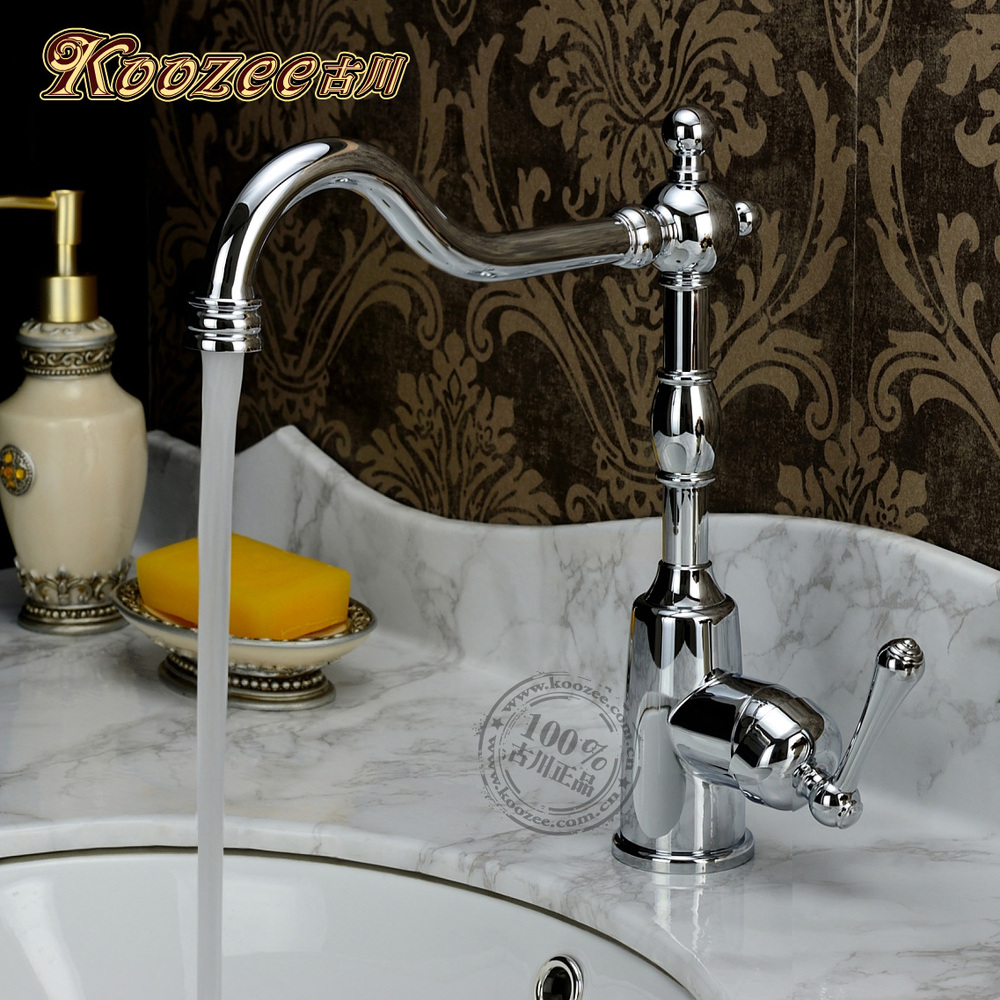 Furukawa genuine antique faucet classical faucet hot and cold faucet entire copper chrome kitchen faucet AntiqueFurukawa genuine antique faucet classical faucet hot and cold faucet entire copper chrome kitchen faucet Antique