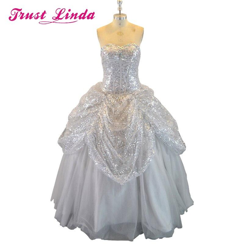 Mode Quinceanera robes Tulle chérie à volants encolure dégagée longueur de plancher robes de bal Vestido