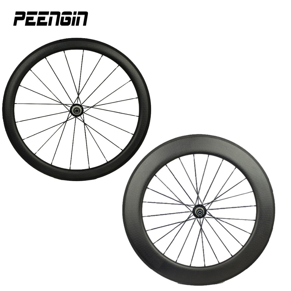 Moonscapes!Carbon fast wheelset mixed dimple clincher wheel v brake 25 golf rim 45 front 80mm back 700C road option hubs wheels 180 16 9 fast fold front and rear projection screen back
