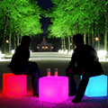 40cm Multi-color changing Led Cube table modern lighting for parties