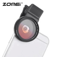 ZOMEI M2 37MM Professional 37MM Mobile Phone Lens Filter Kit Phone Lens + Lens Clips Set For iPhone For Samsung