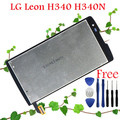 100% Original Warranty LCD Display + Touch Screen Digitizer For LG Leon H340 H340N H320 H324 Screen Replacement