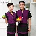 Ropa de trabajo para hombre occidental catering comida clothing femininas uniformes ropa de trabajo delantal establece restaurante hotel chicos ropa 2 unidades