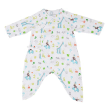 2017 Summer Newborn Infant Baby Romper Clothes Boy Girl Rompers 100% Cotton Gauze Muslin Long Sleeve Romper Jumpsuits Clothing