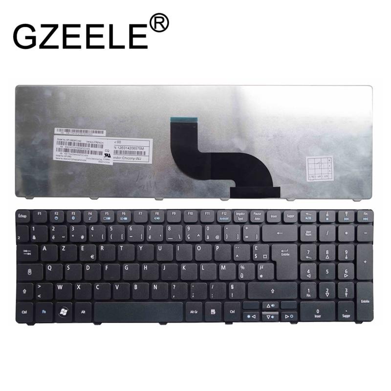 GZEELE New FR AZERTY Keyboard FOR Packard Bell Easynote MP-09G36F0-6982W PK130QG1B14 NKI171303Y French Keyboard