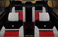 3D Sport Car Ghế Bìa Chung Đệm Màu Xanh Lá Cây Vải Xe Styling Đối Với Audi A1 A3 A4 B8 B7 B6 B5 A6 C6 C7 A8 A8L Q3 Q5