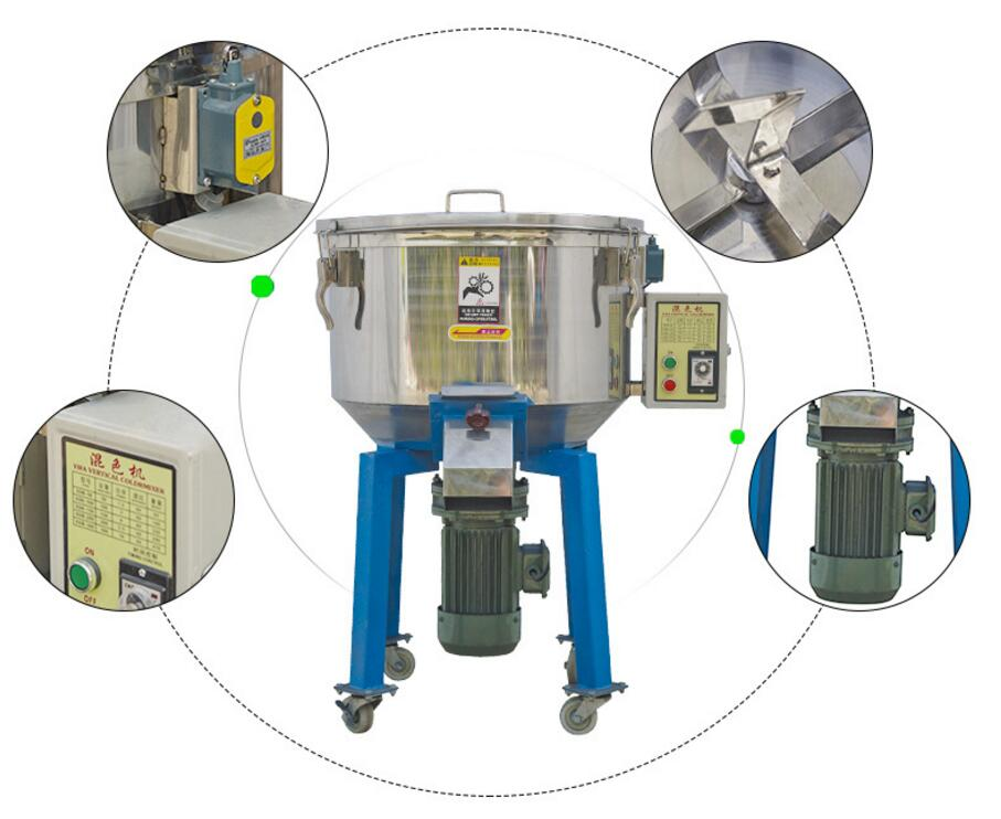 High capacity Industrial High Speed Auto Vertical Plastic Color Mixer Machine For Plastic PelletHigh capacity Industrial High Speed Auto Vertical Plastic Color Mixer Machine For Plastic Pellet