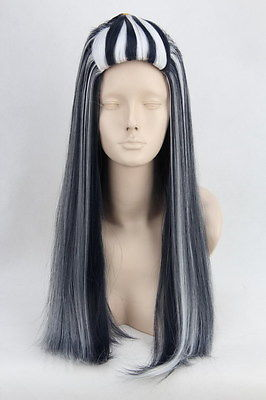 halloween anime cosplay wig for monster high frankie stein. Black Bedroom Furniture Sets. Home Design Ideas