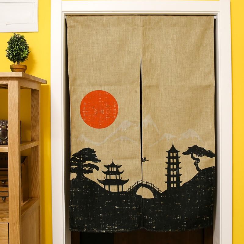 Schöne Vorhänge Japanischen Baumwolle Vorhang Schlafzimmer Feng Shui  Dekoration Vorhang Küche Partition Die Küche Vorhang In Schöne Vorhänge  Japanischen ...