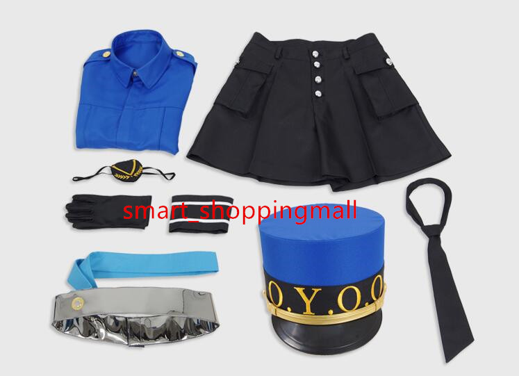Persona 5 Justin Cosplay Costumes P5 Women Suit School Uniform Cosplay
