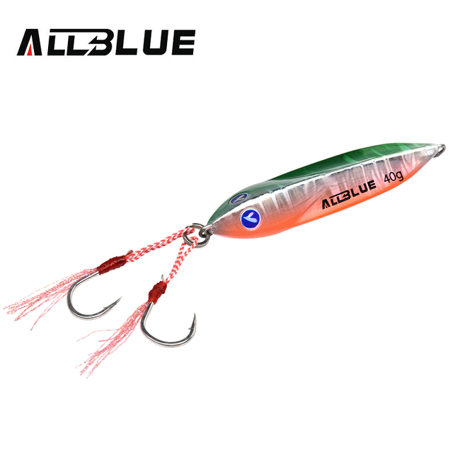 ALLBLUE SEABLUE Metal Jig Spoon