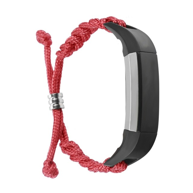 LNOP Woven Nylon strap For Fitbit Alta band Alta HR replacement band Survival Bracelet wristband watchband strap Fitbit Alta 1
