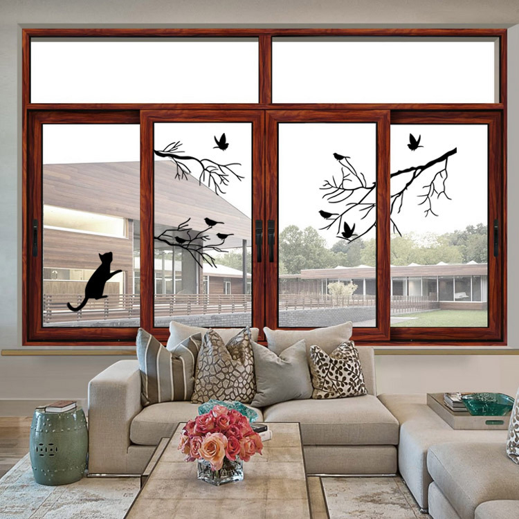 Real Branch Birds Wall Stickers Home Decor Living Room Diy Art Mural Decals  Creative Vinyl Removable Cat Wall Sticker In Wall Stickers From Home U0026  Garden On ...