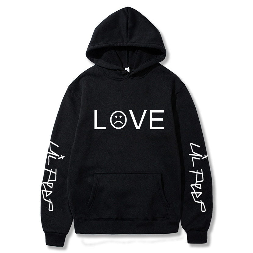 New Lil Peep Love Winter Hoodies Men Sweatshirts Hooded Pullover Casual Women Homme Harajuku Fashion Sweatshirts Men Long Sleeve