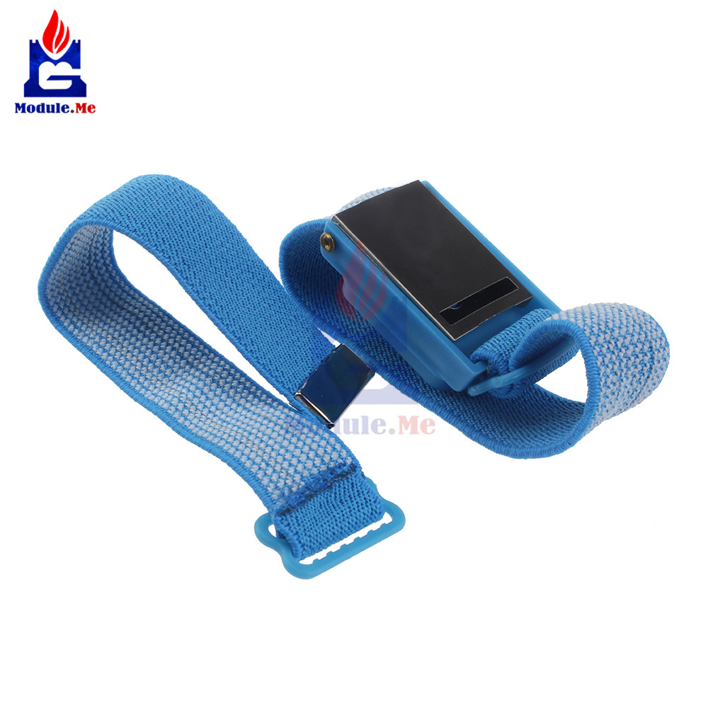 Smart Accessories 1pc/ 2pcs/ 4pcs Esd Wrist Strap Alligator Clip Anti Static Discharge Band Grounding Prevent Static Shock Wholesale Promotion Buy Now