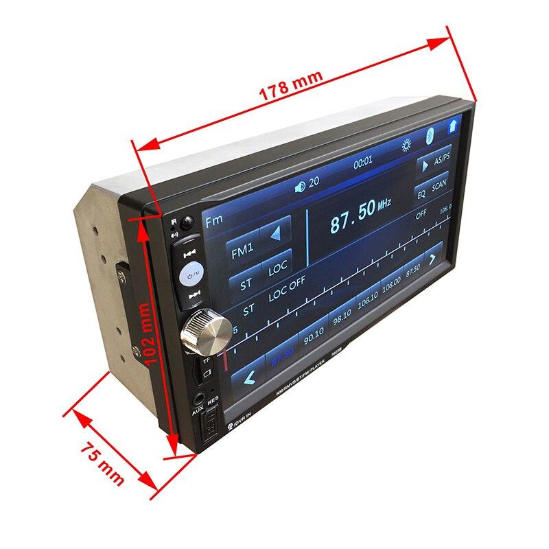 Здесь можно купить  2018 7 Inch Car MP4 Bluetooth Hands-free Call Card Auto Car Radio Car Multim Audio HD Built-in Radio Tuner Touch Function  Автомобили и Мотоциклы