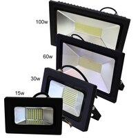 10pcs Lot AC 220V 110V LED Flood Light 15W 30W 60W 100W Waterproof IP65 Reflector Led