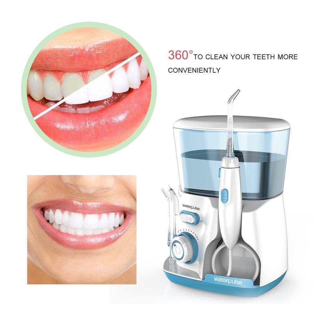 Jacto De Água Irrigador Oral V300G 100-240 v Escolha Fio Dental Dentes Dentes Flosser Hidro Conjunto 800 ml Capacidade branqueamento