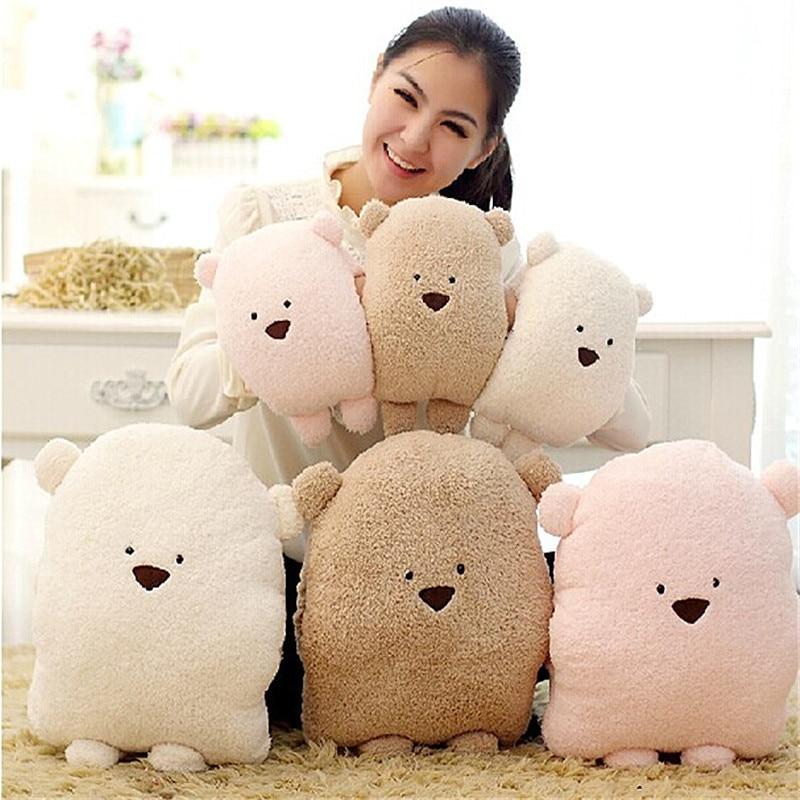 Cute bear pillow cushion Panda pillow Soft Potatoes bear nap pillow Plush toy Gift for girl-in ...
