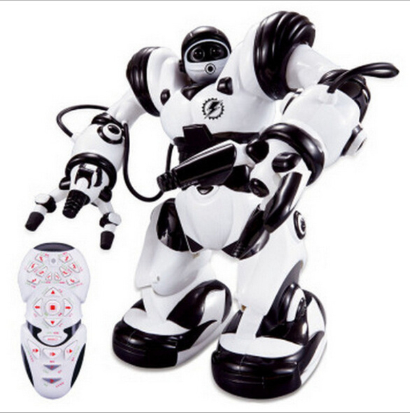 Hot sell Jia Qi large Size Smart Remote Control Robot 35*30cm RC Robot Kids Rc Animal Toys intelligent Dance&Sing RC Robot jia le toys мой веселый барабан