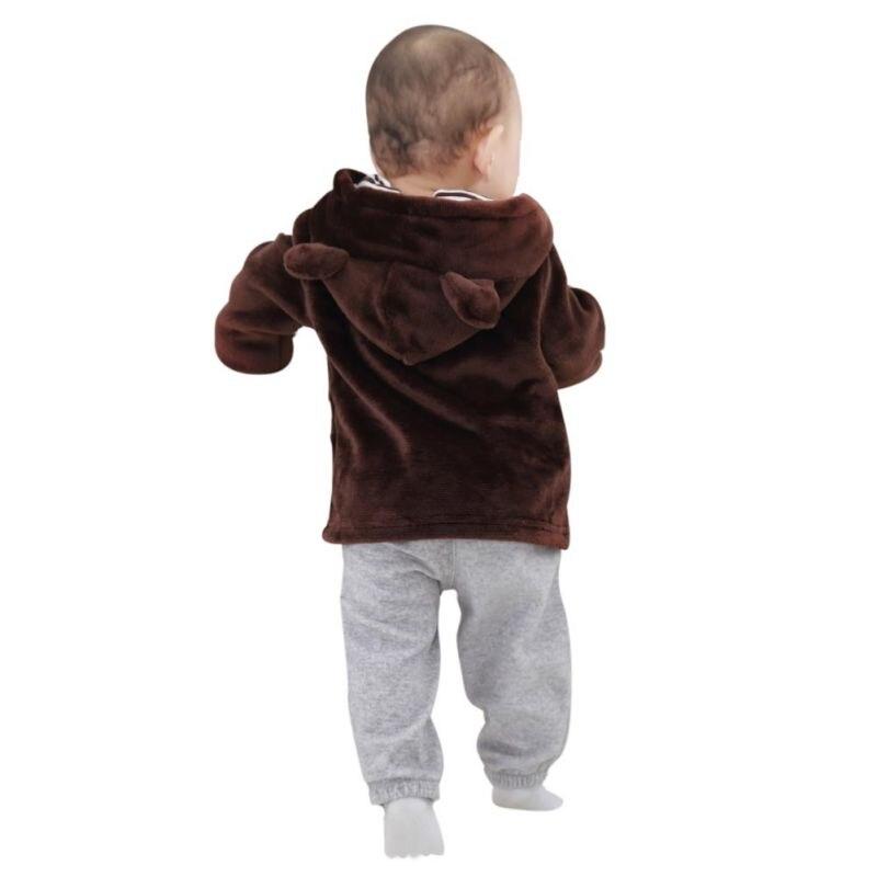 d551d84b5329 Aliexpress.com : Buy Baby Coat Winter Infant Clothing Newborn Baby Girls  Boys Jackets Long Sleeve Ears Cute Baby Girls Outerwear Jackets Coats  Hooded from ...