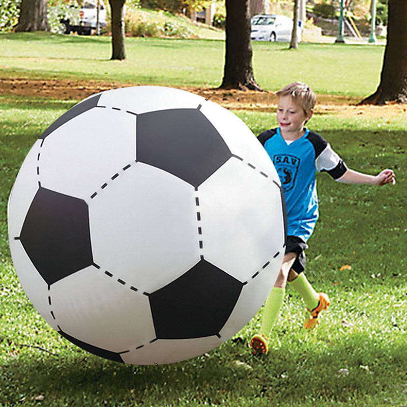 Giant Water Toys Inflatable Beach Ball 130cm Inflated Football Children Outdoor Fun Sport Toys Summer Swimming Pool Party Favor (1)