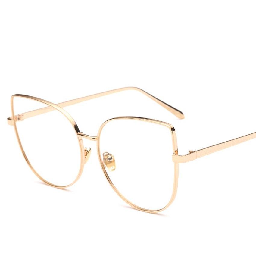 √Alta calidad moda gato ojo Gafas Marcos s mujer marca diseñador ...