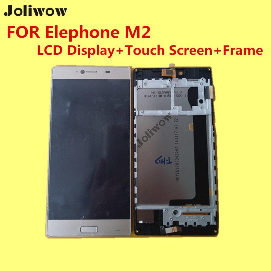 PARA Elephone M2 LCD Display + Touch Screen + Frame + Herramientas 100% Original