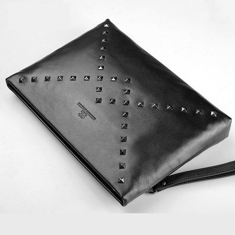 Portefeuille en cuir pour homme portefeuille long en cuir véritable sac à main multi-porte-carte en cuir souple en cuir véritable pochette