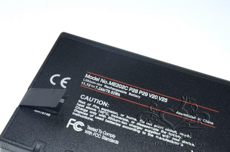 JIGU 33-01PI 338911120104 BP-LP2900 D'origine batterie d'ordinateur portable Pour HASEE DR202S LI202S ME202C ME202EK RS2020 11.1V 79.92WH - 4