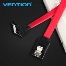 Vention sata cabo 3.0 ssd hdd 2.5 sata iii em linha reta ângulo direito disco rígido drive cabo para asus gigabyte disco rígido cabo de dados