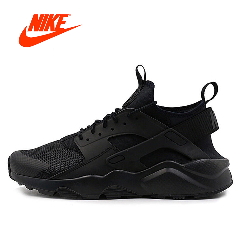 Intersport Original NIKE New Arrival AIR HUARACHE RUN ULTRA Men's Breathable Running Shoes Sneakers classic Tennis shoes outdoor nike original new arrival mens kaishi 2 0 running shoes breathable quick dry lightweight sneakers for men shoes 833411 876875
