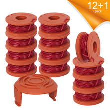 WA0010 Lawn Mower Grass Trimmer Line Replacement Kits String Trimmer Spool Line Cap Cover for Lawnmower Machine Accessories