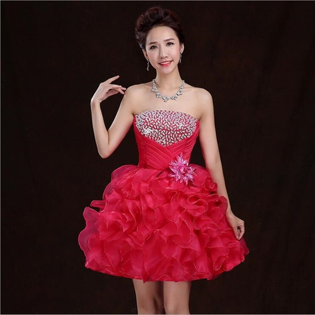 cheap yellow sexy high school cute 8th grade graduation homecoming dresses  2017 new short ball gown sequined cocktail dress 586d17b6d